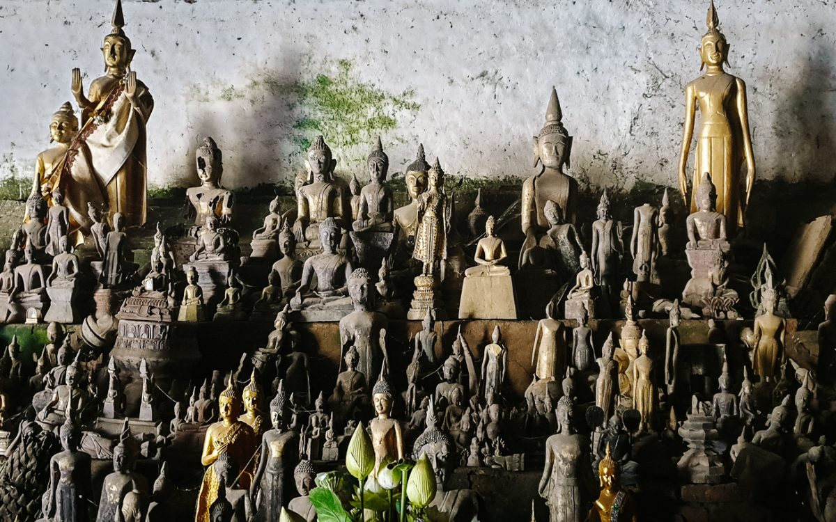 Pak Ou caves, mooiste plekken Laos