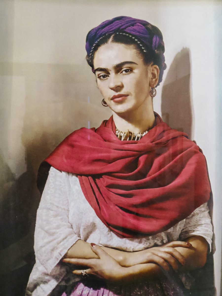 Frida Kahlo, one of the inspiring painters you will discover during your trip to mexico