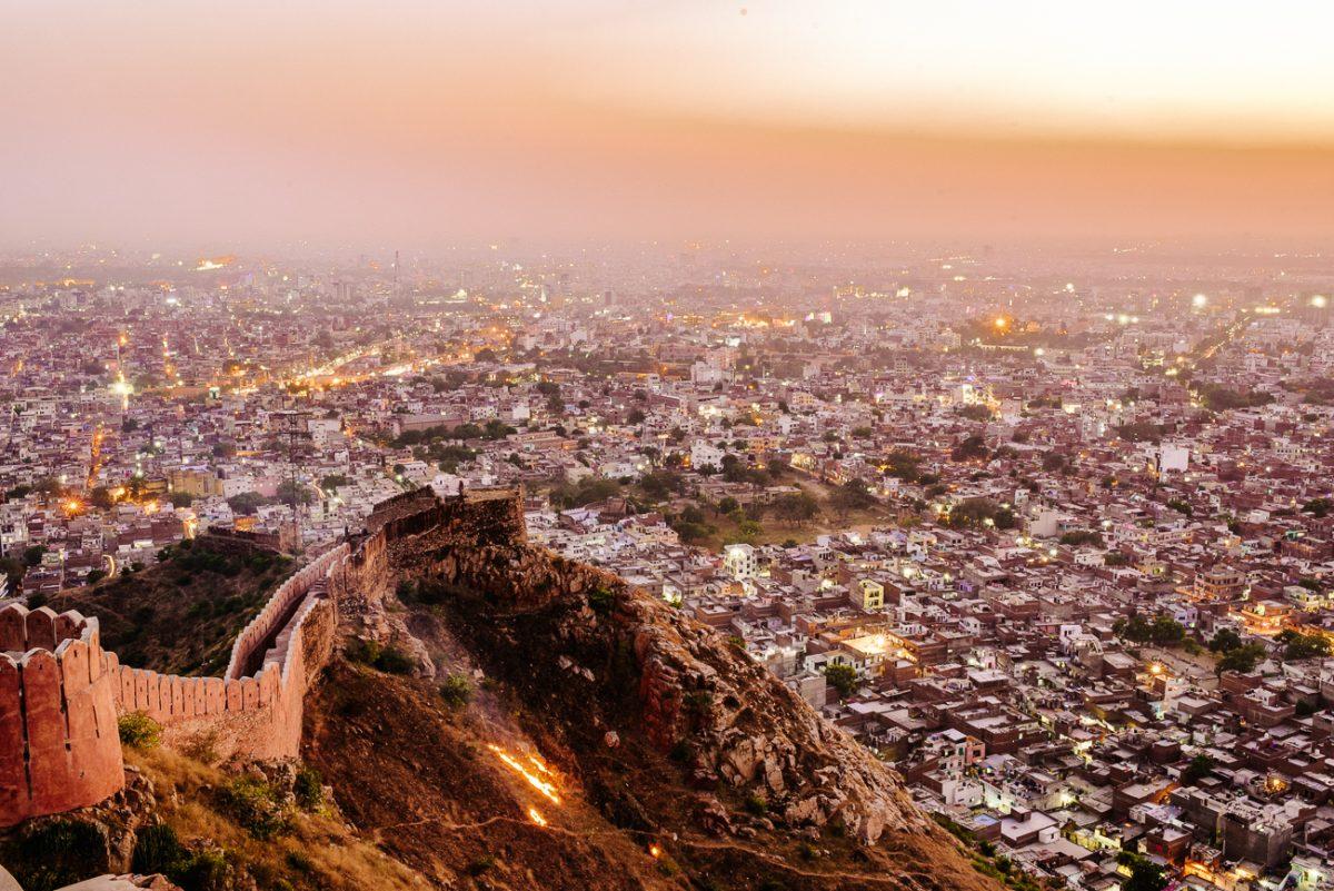 Jaipur India uitzicht