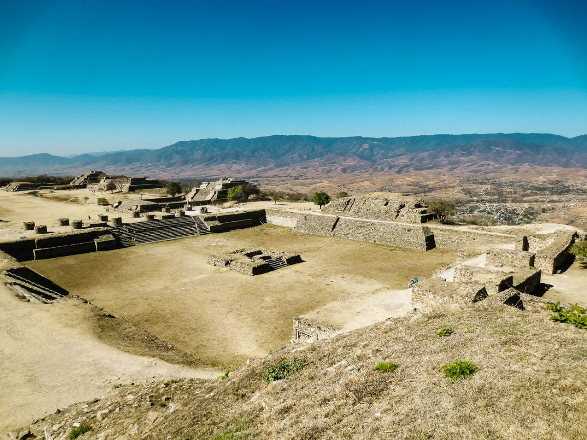 Visiting Monte Alban