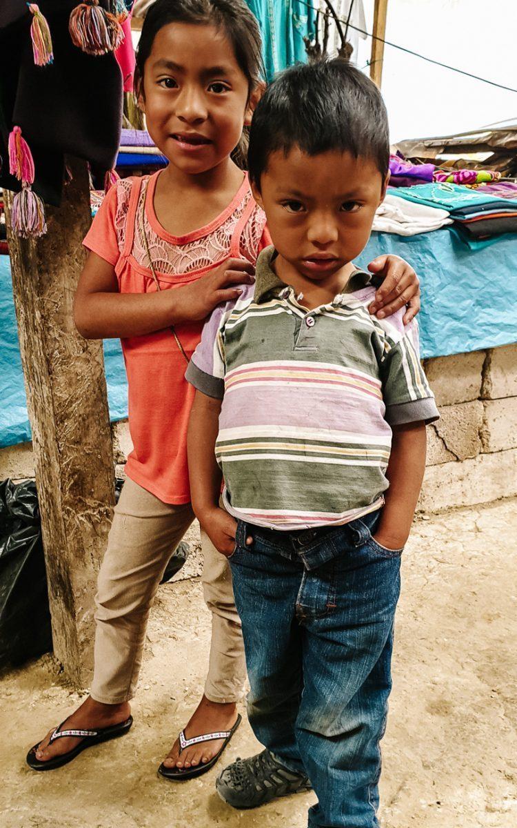 children in Zinacantan