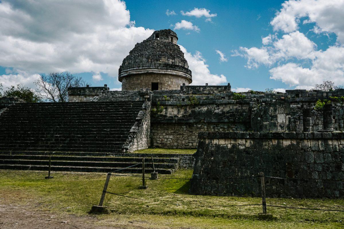 observatory in Chichen Itza Mexico