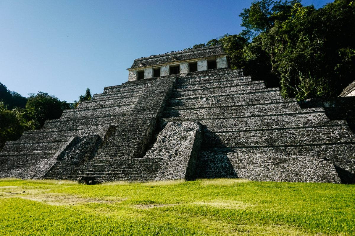 fascinating Maya ruins | one of my best tips for palenque mexico is to early morning