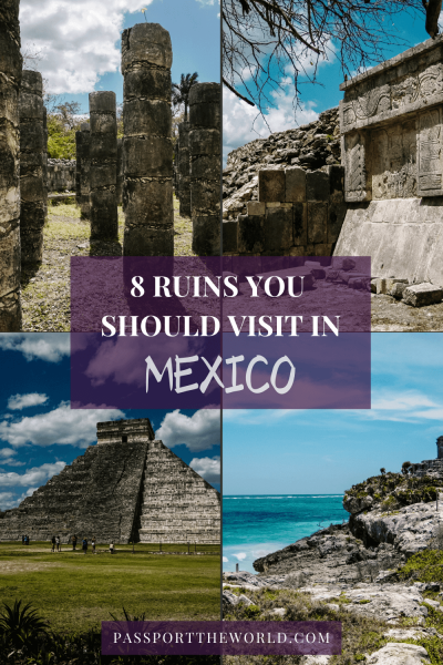 Mexico is famous for its history, temples and pyramids. Discover the best ruins, including the famous Yucatan Mayan ruins to visit in Mexico