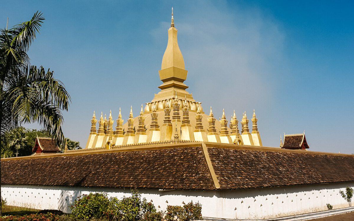 Vientiane bezienswaardigheden   Pha That Luang