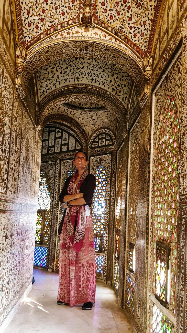 hallways of Junagarh fort