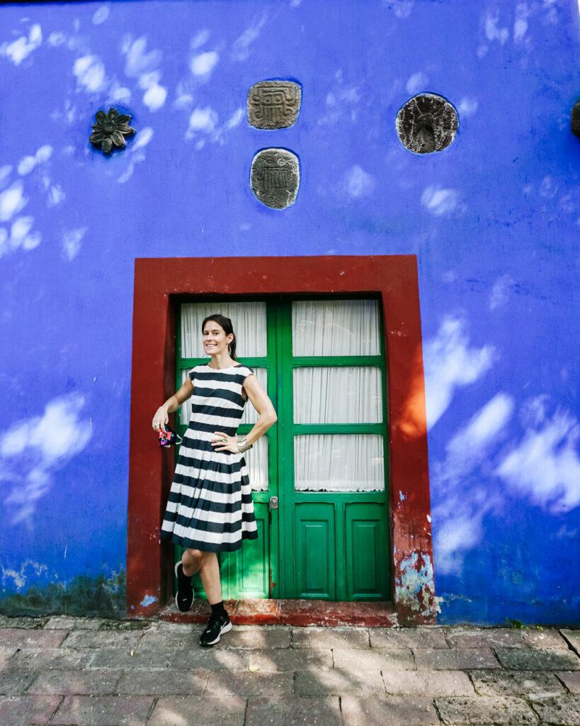 Deborah in la casa azul