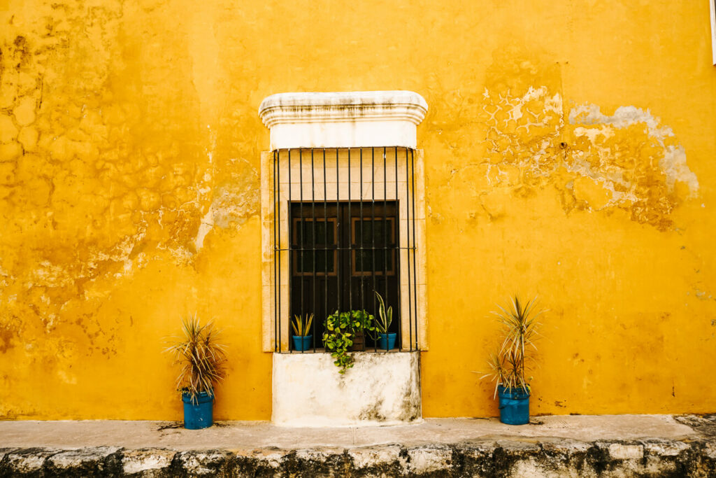 visit Izamal, the yellow city and one of my top tips for a trip to Yucatan Mexico