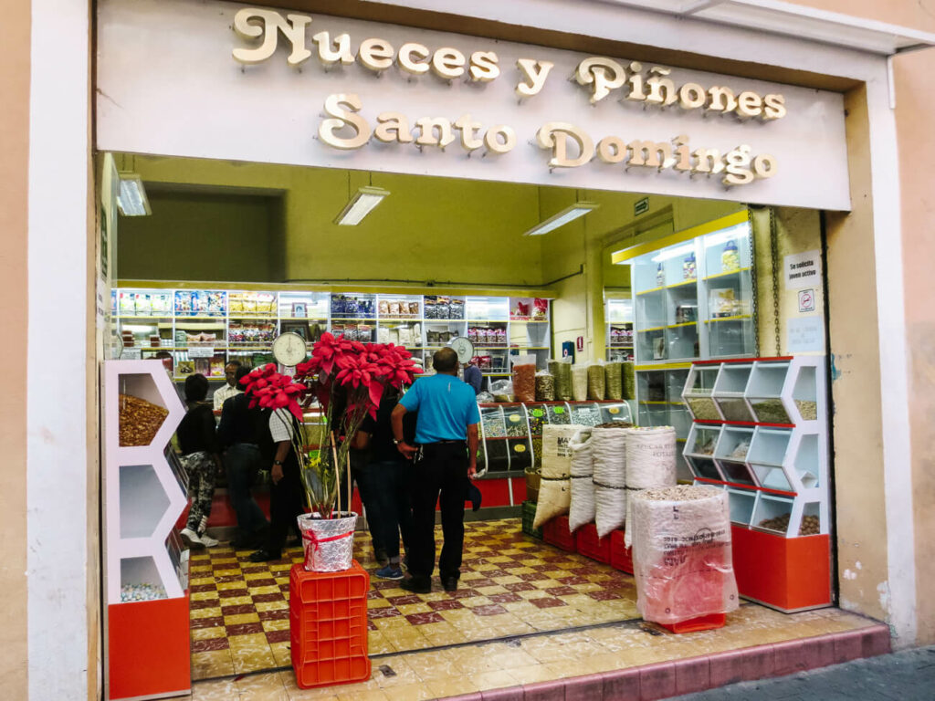 discover the streets full of sweets stores in Puebla during your trip to Mexico