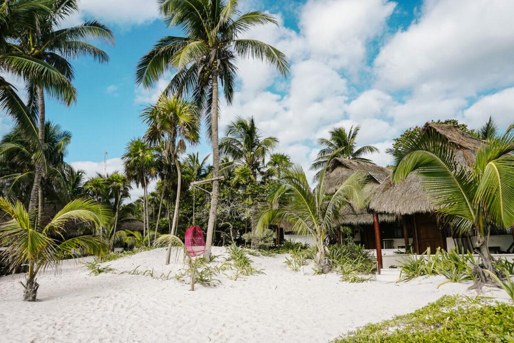 stranden van Tulum