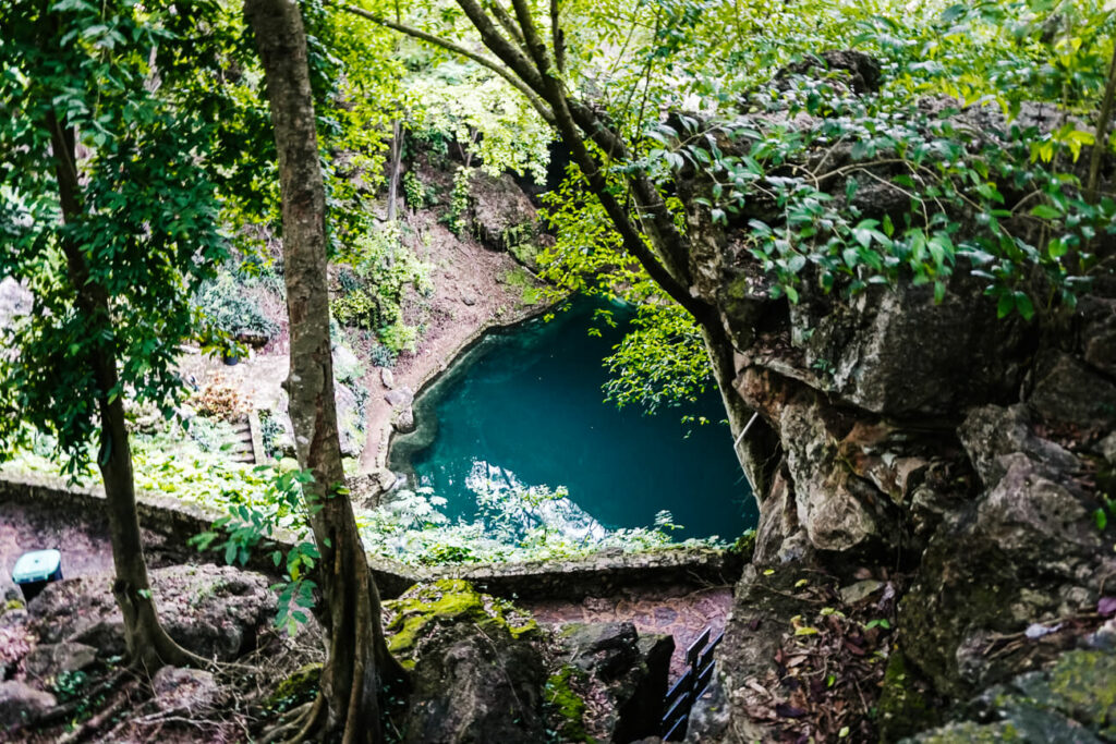 cenote Zaci, one of the best things to do in Valladolid Mexico