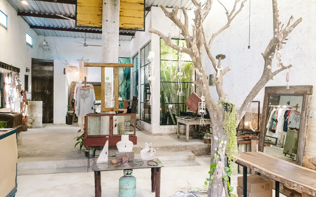 discover stylish boutique stores in Valladolid in Mexico