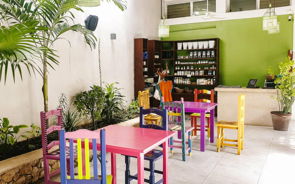 Yerbabuena de Sisal restaurant in Valladolid in Mexico
