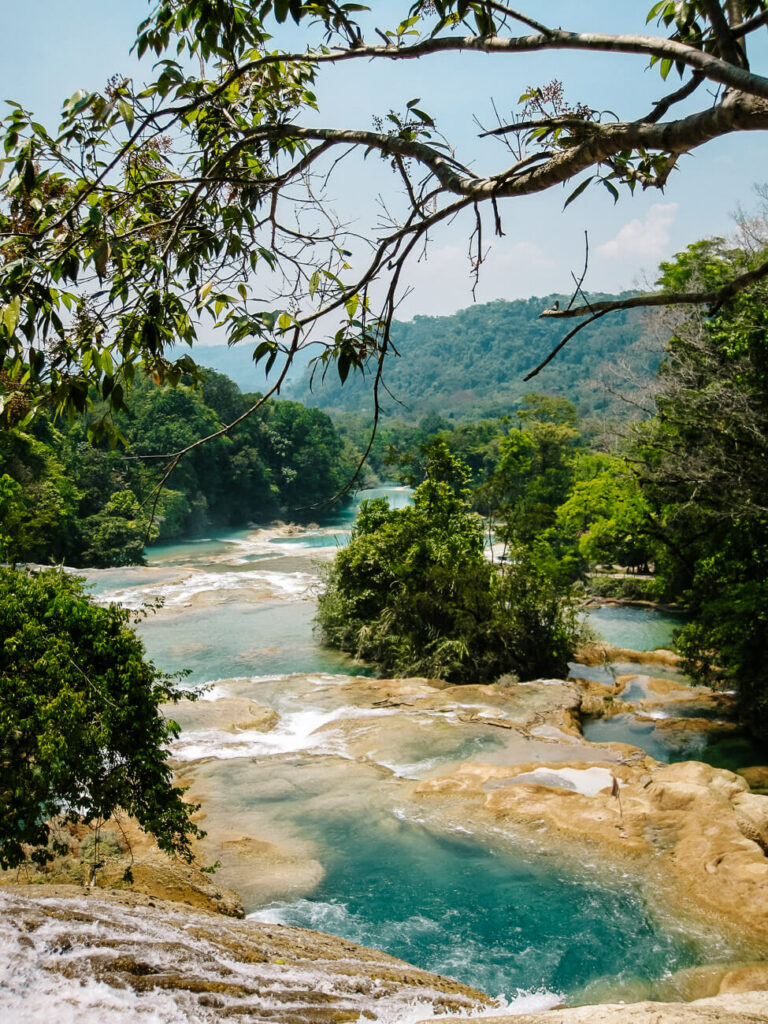 explore the lush greenery and waterfalls of palenque, one of my top tips for Mexico
