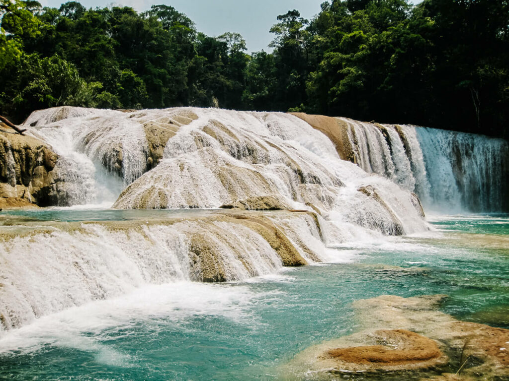 one of my top tips for Mexico, is to visit the waterfalls of Palenque