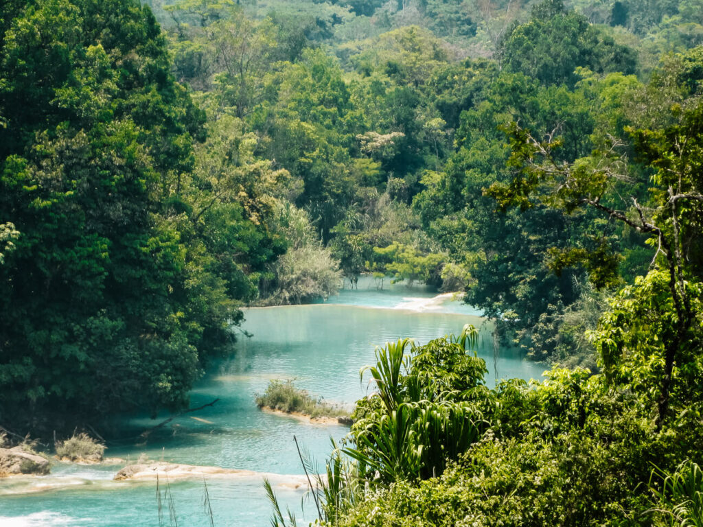 visit the waterfalls of Palenque during your trip to Mexico, one of my top tips for mexico