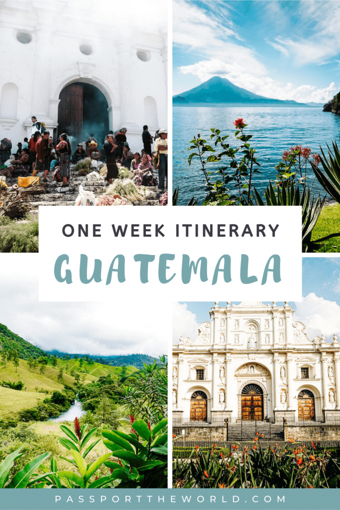Guatemala itinerary 7 days | This is my guide with destinations, things to do, traveling time, transportation for one week in Guatemala.
