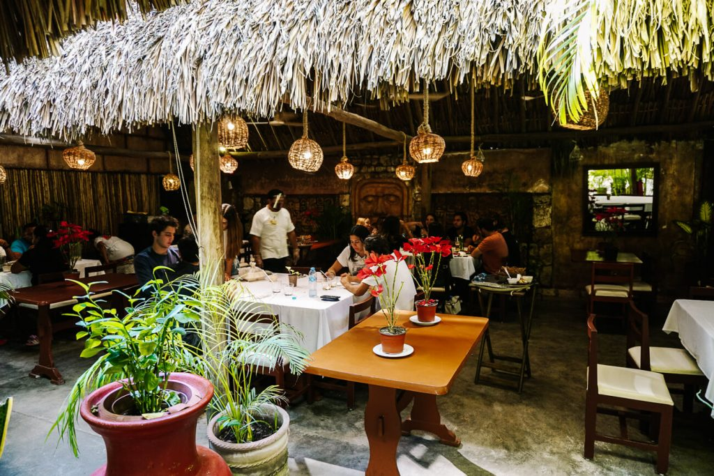 eat in Kinich restaurant, one of the best things to do in Izamal Mexico