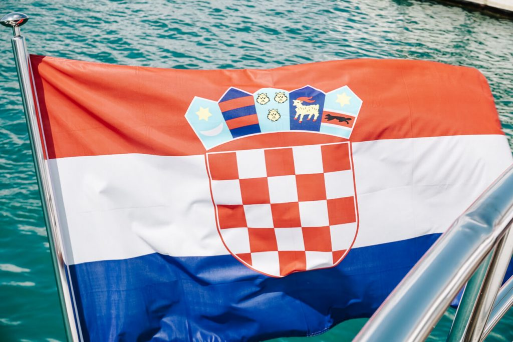 vlag van Kroatie