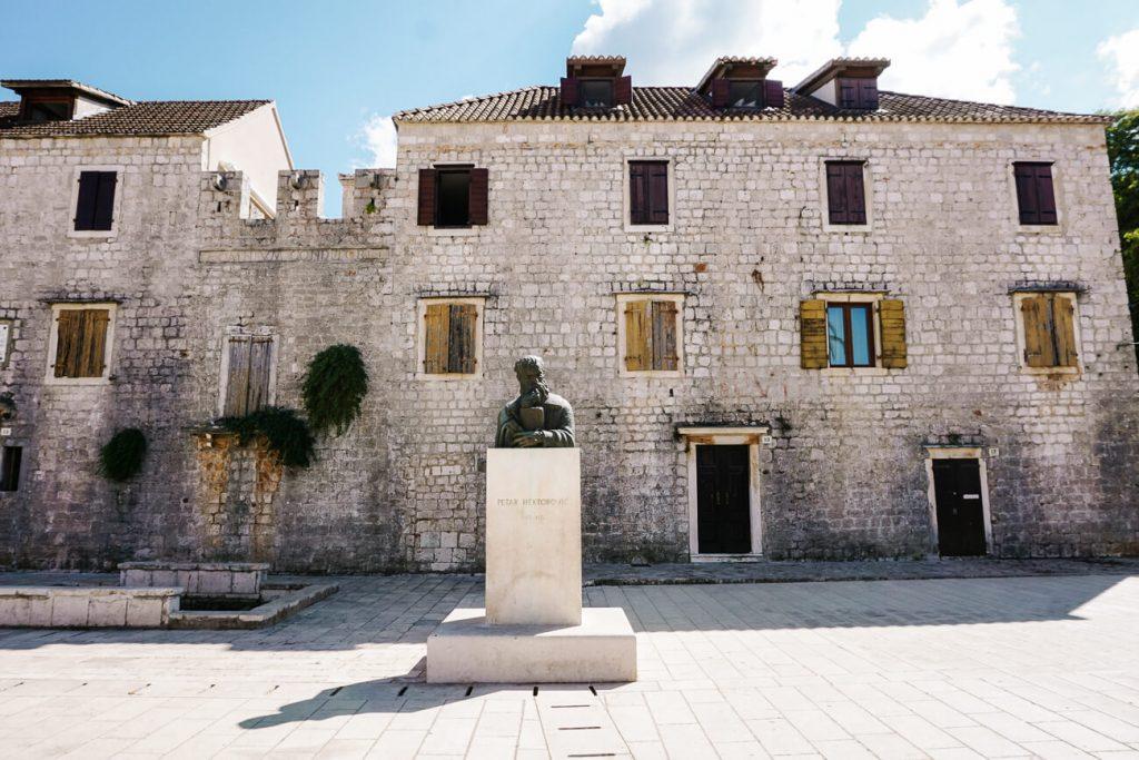 Tvrdalj, het voormalige woonhuis/kasteel uit de 16e eeuw, van schrijver Petar Hektorovic.