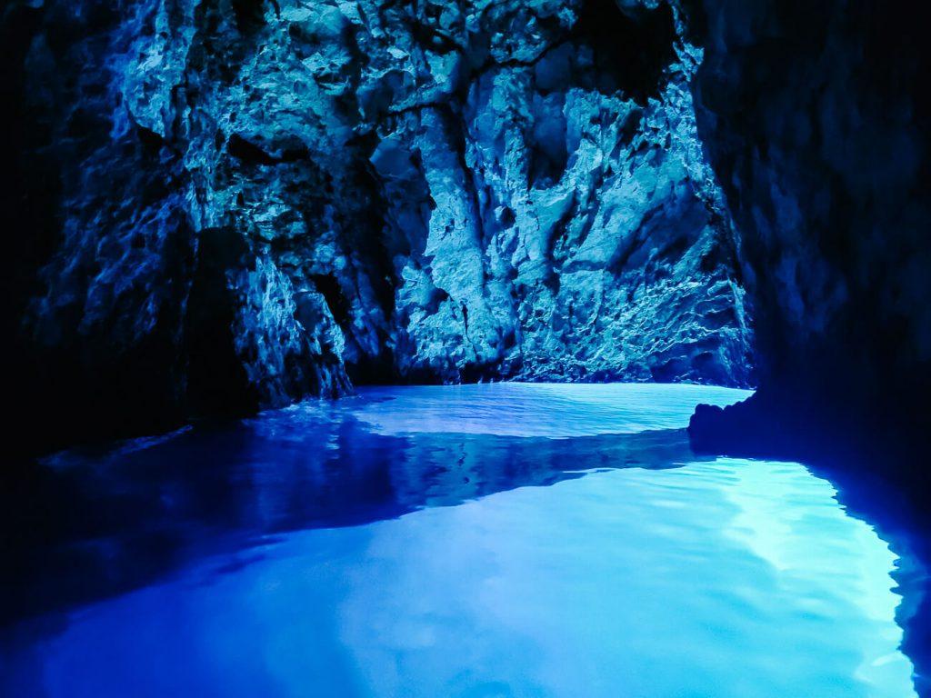 blauwe grot Kroatie - Blue Grotto