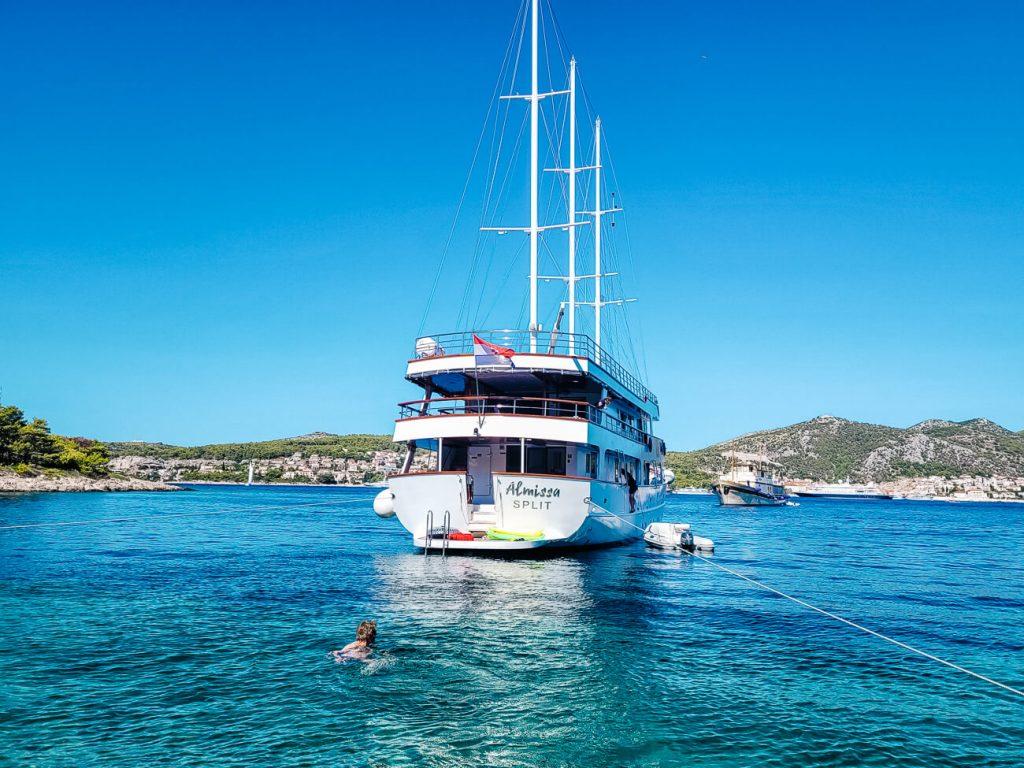 Sail Croatia, cruise in Kroatie langs de Dalmatische kust
