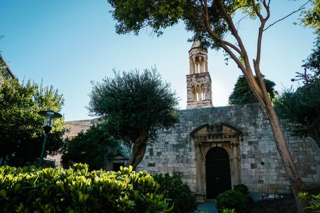 klooster in Hvar aan de Dalmatische kust van Kroatie
