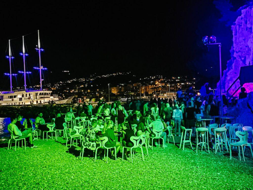 Club Deep in Makarska Kroatie