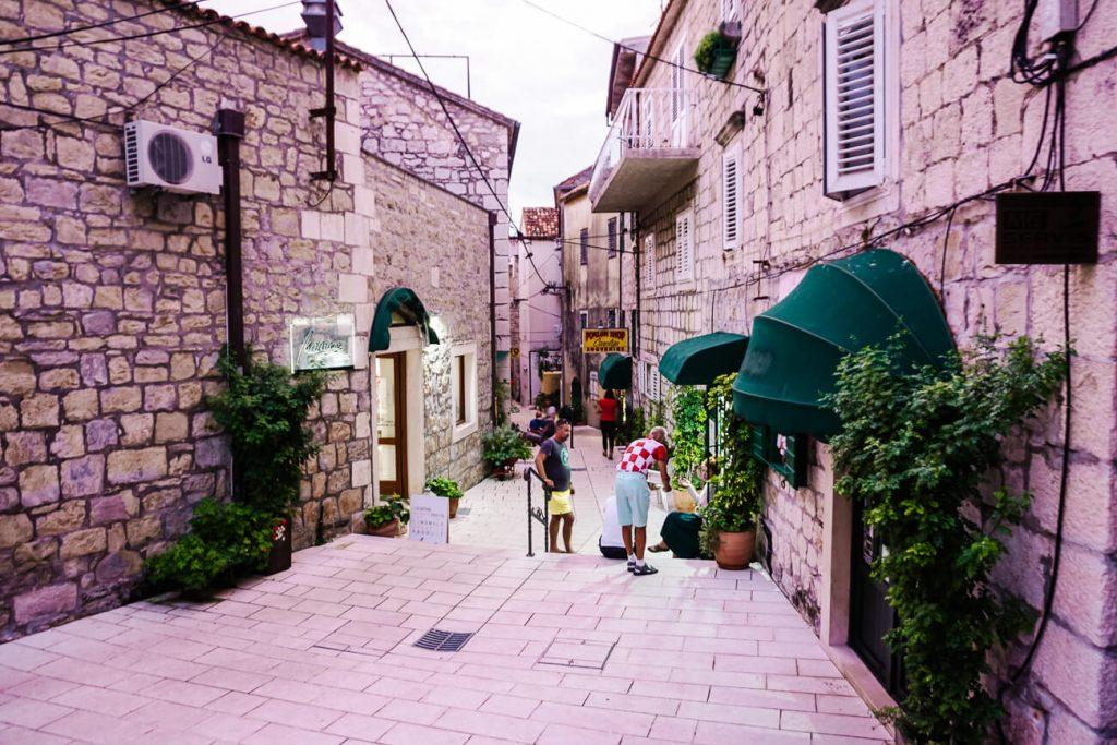 straatjes van Makarska