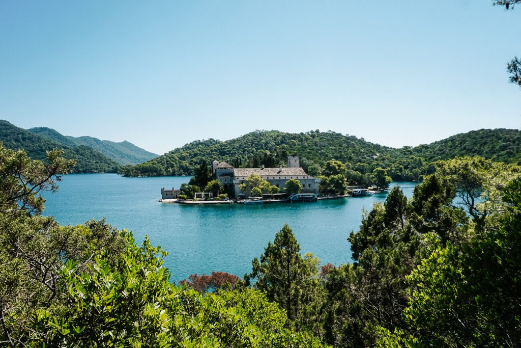 Mljet National Park, Dalmatische kust Kroatie