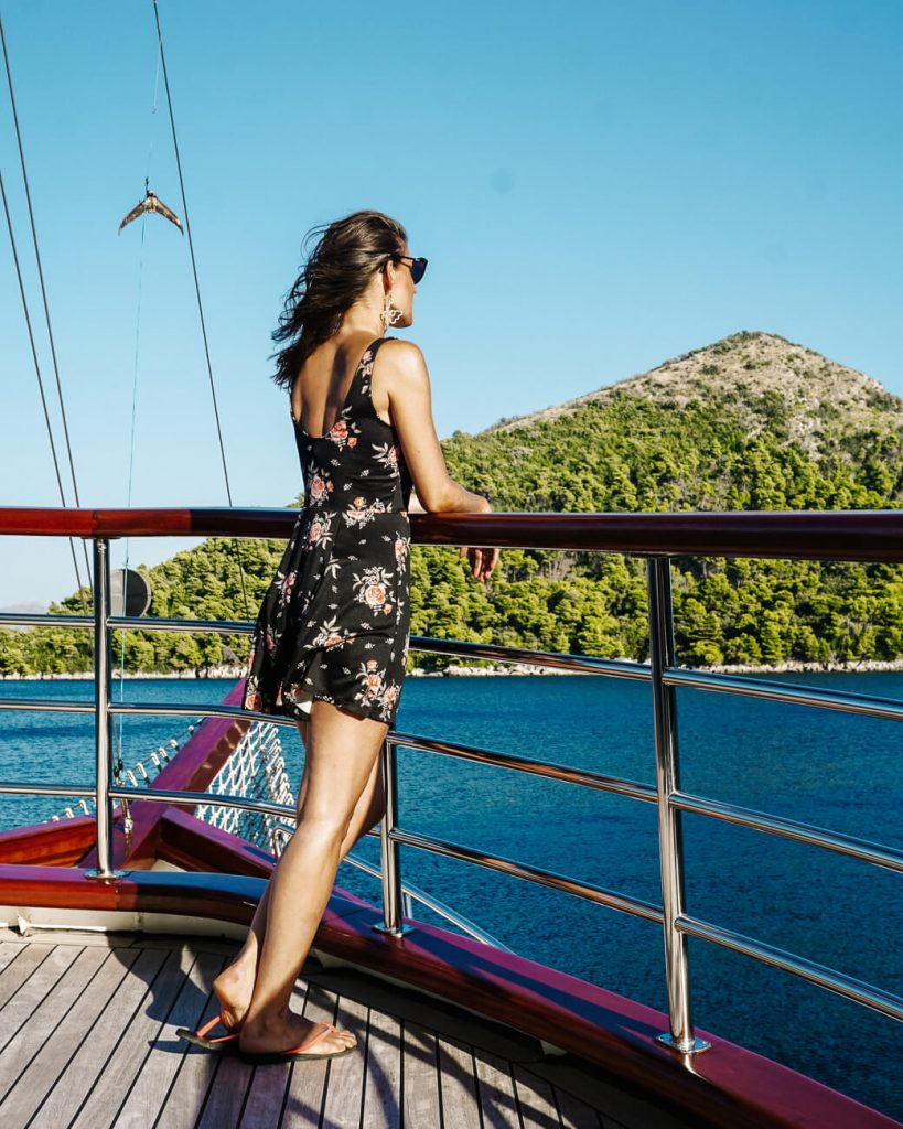 Deborah op explorer cruise van Sail Croatia