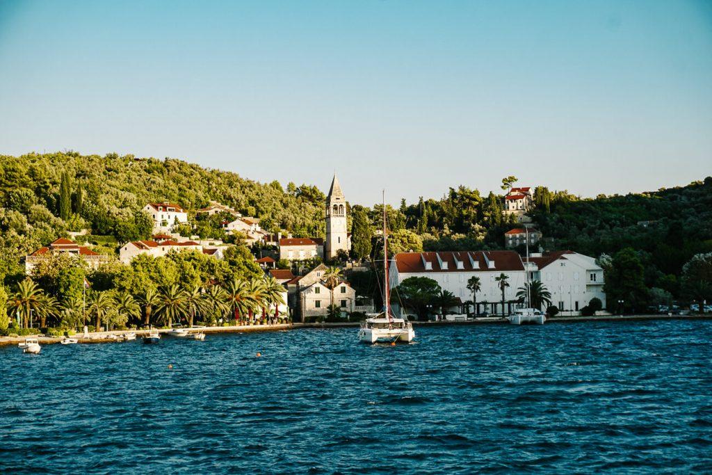 sipan, een van de eilanden in Kroatie