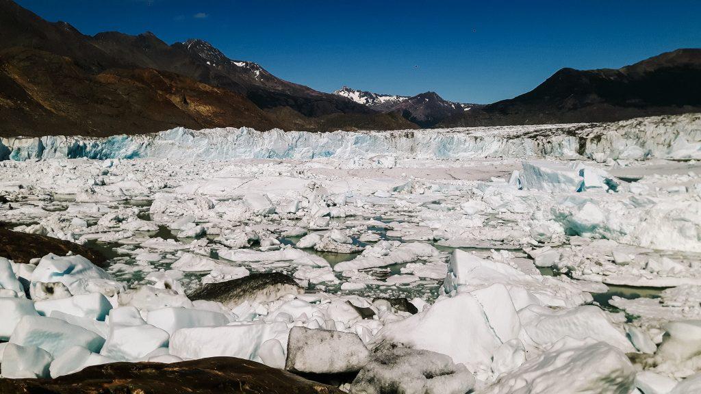 een icehike op de gletsjer