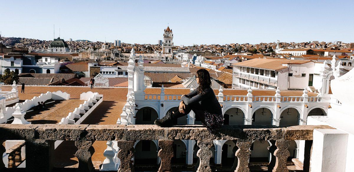 Deborah in Sucre Bolivia