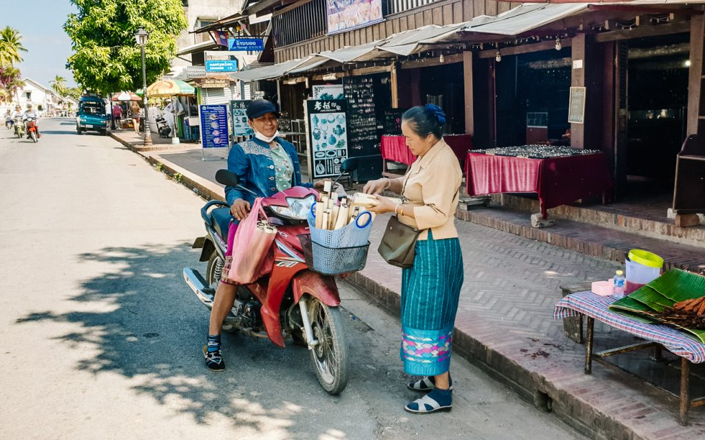 streets Luang Prabang | places to see in Laos