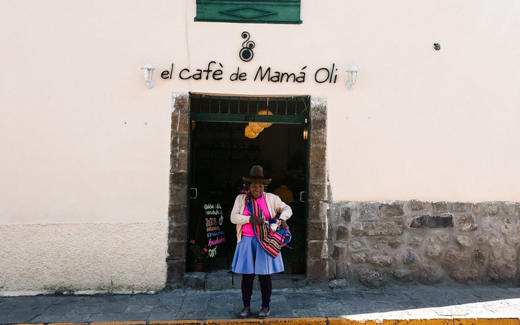 best cafes in Cusco Peru Mama oli