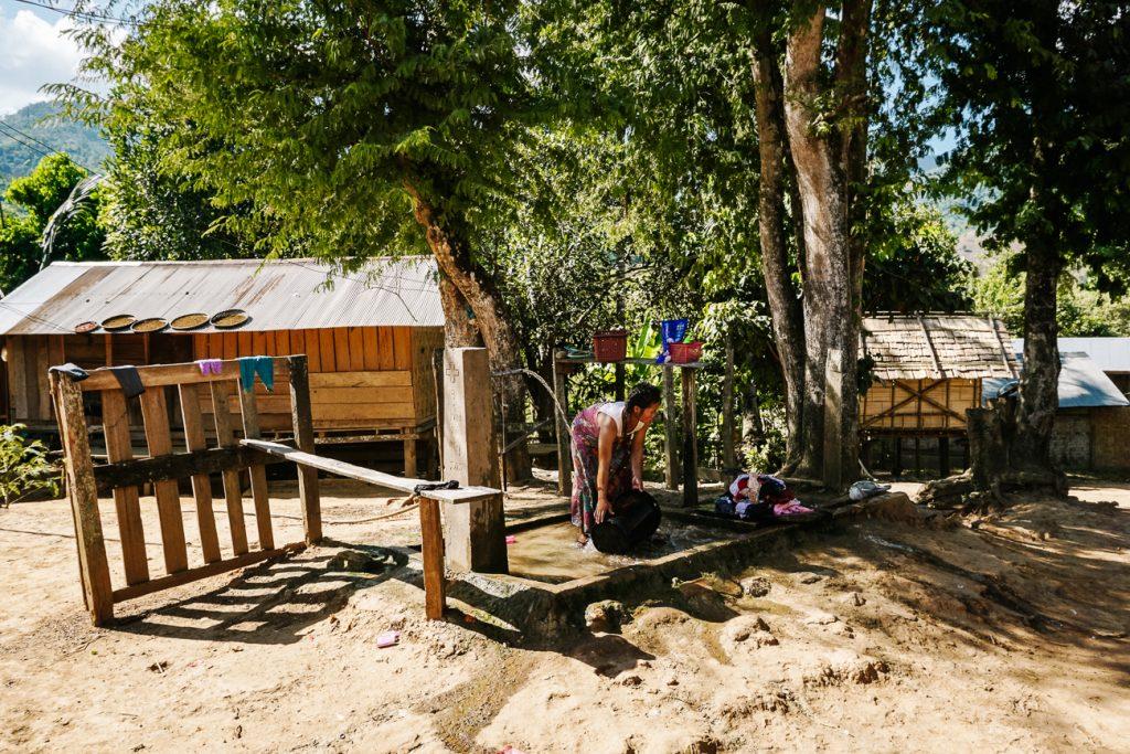 lokale dorpjes Laos