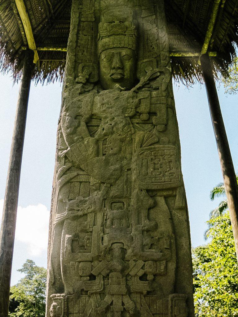 Maya steles