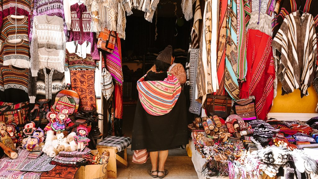 top things to do in sucre is visit tarabuco market in bolivia