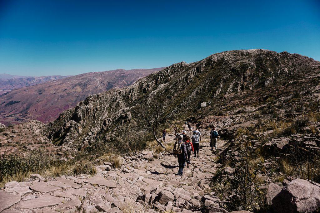 Loop de Boliviaanse Inca Trail, een van de mooiste Bolivia bezienswaardigheden