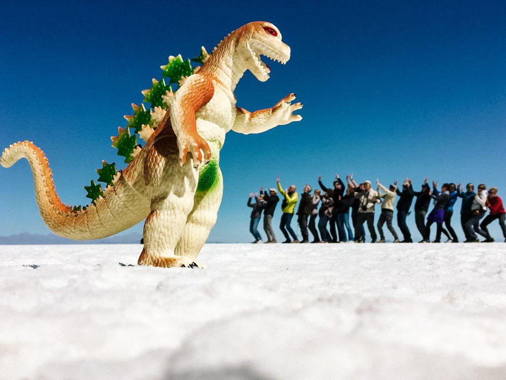 zoutvlakte bolivia gekke fotos
