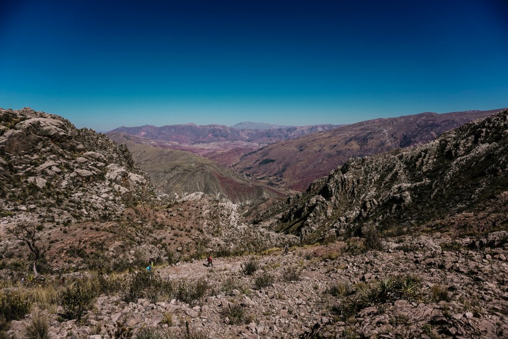 Hiking in Bolivia   the Inca trail