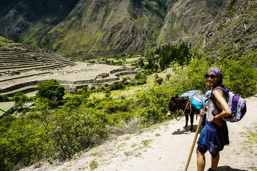 Hiking In Bolivia The Inca Trail Is A Lovely Day Hike Passport The World