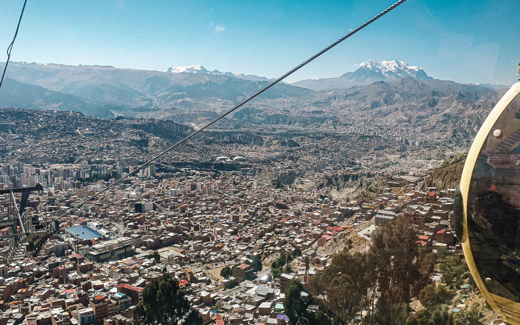 kabelbaan la paz | uitzicht