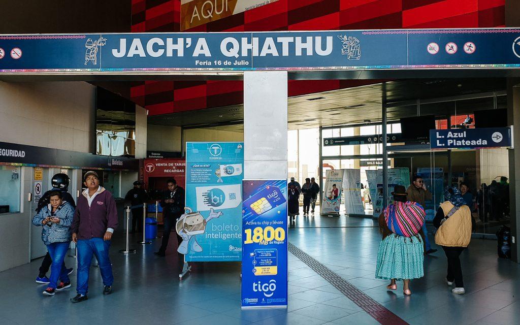 Estacion Jach'a Qhathu,