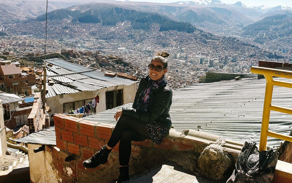Uitzicht op La Paz