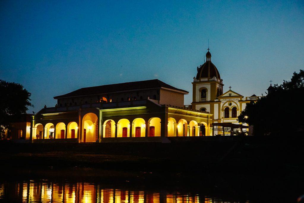 Santa cruz de Mompox Colombia by night