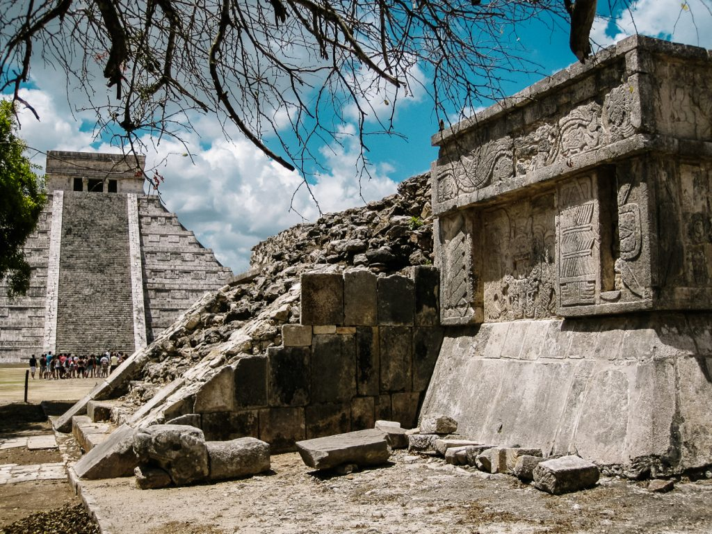 Maya tempels in Chichen Itza