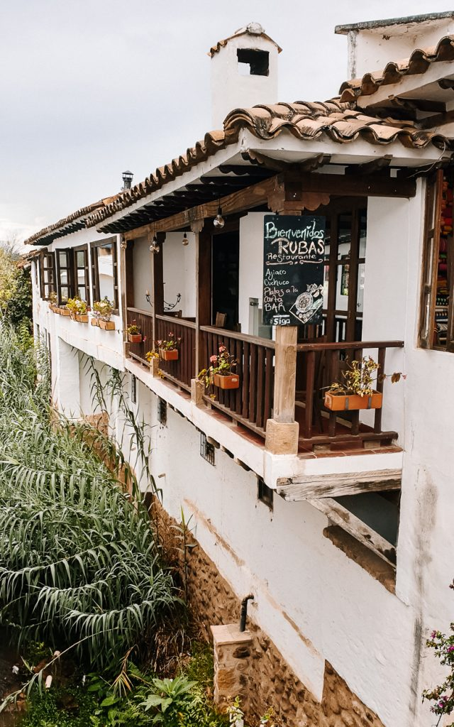 straten Villa de leyva