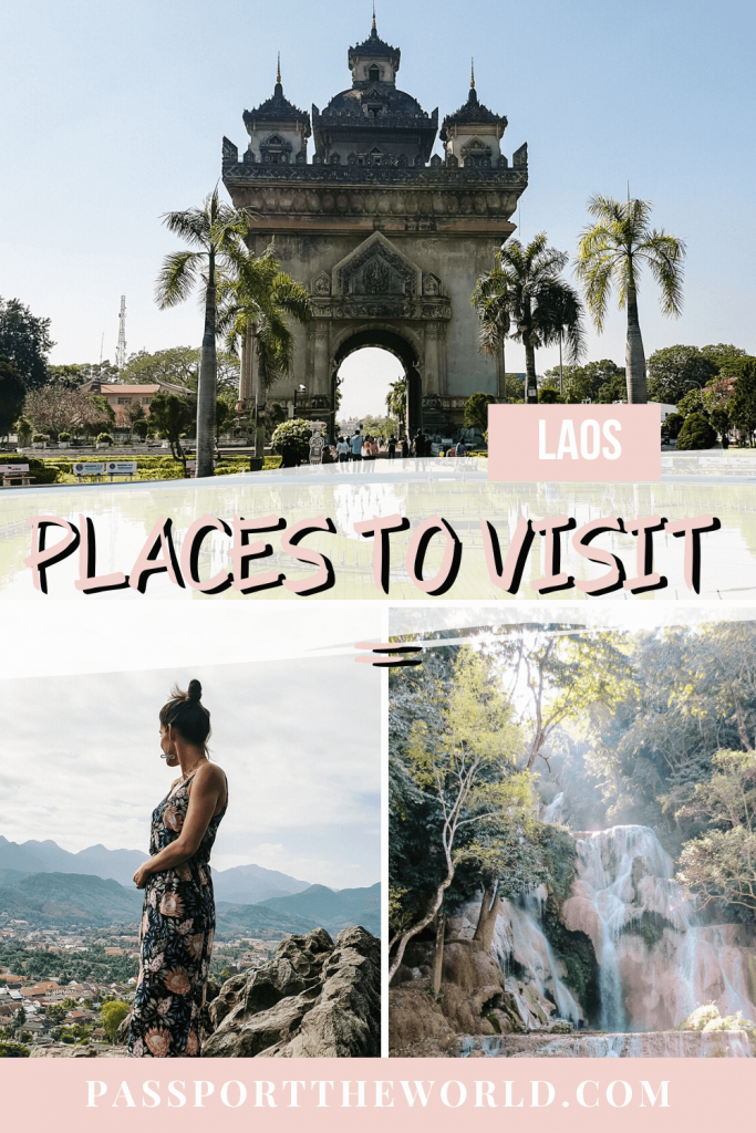 Laos places to visit pin South Laos Highlights